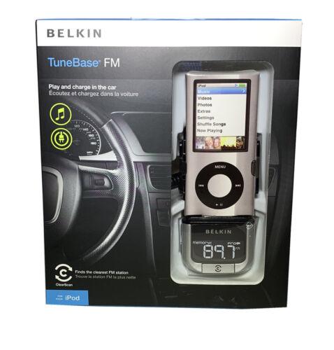 Belkin Tunebase Fm Transmitter for Ipod F8z176ttp-sn