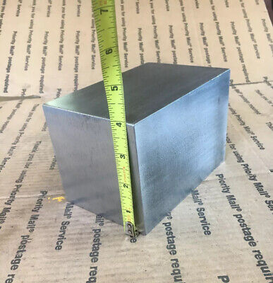 4 Steel Square Bar Blacksmith Machining Cold Rolled Cube 6 Long 4.00 X 4.00