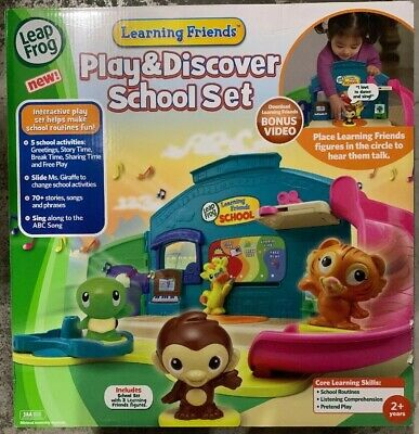LeapFrog  Learning Friends Play and Discover School Set Educational FUN - (Leapfrog Learning Friends Play And Discover School Set)