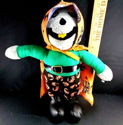 Halloween Scarecrow Black Cat Pumpkin Pants Plush Stuffed Animal Toy Doll 14