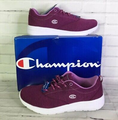 Champion Womens Size 11 Sport Comfort Fabric Lightweight Sneakers Berry Purple for sale  Shipping to India