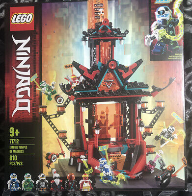 NEW Lego Ninjago 71712 Empire Temple of Madness w/ 6 minifigs