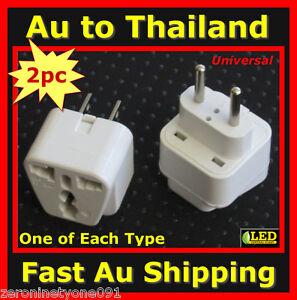 Universal Travel Adapter Thailand Ebay