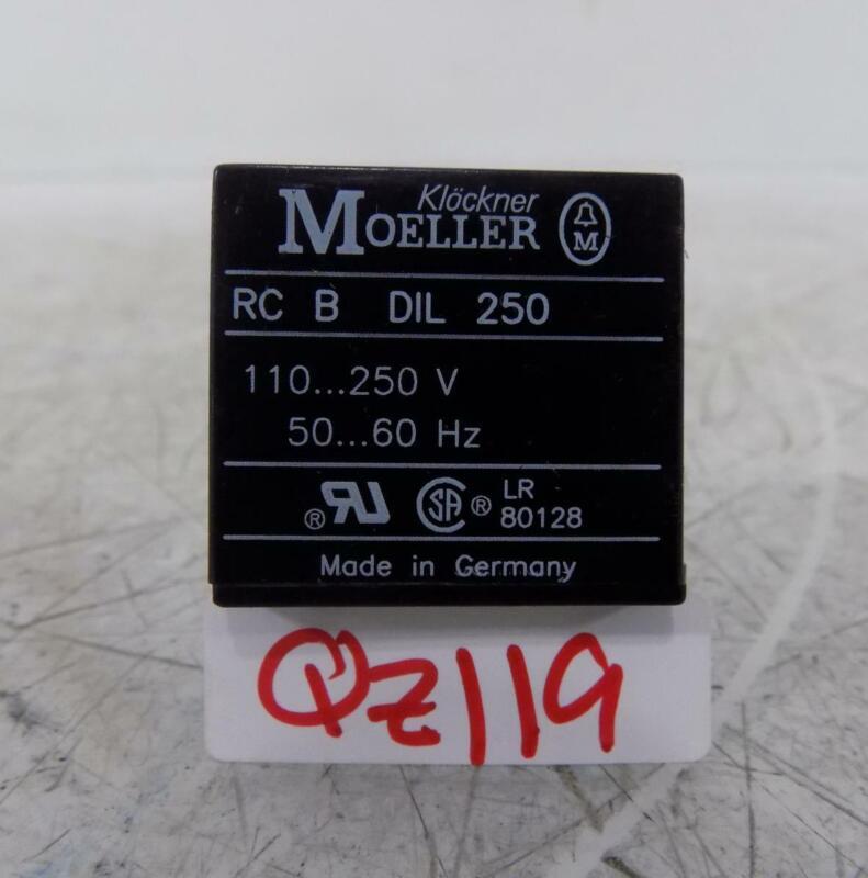 KLOCKNER-MOELLER  SURGE SUPPRESSOR  RC B DIL 250