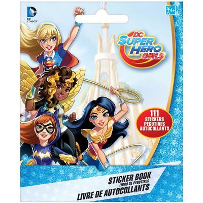 111 Superhero girls  Stickers Party Favors Teacher Supply book 9 sheets batgirl - Batgirl Party Favors