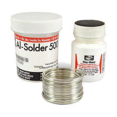 Harris 500k Al-solder 500 Aluminum Solder Flux Kit