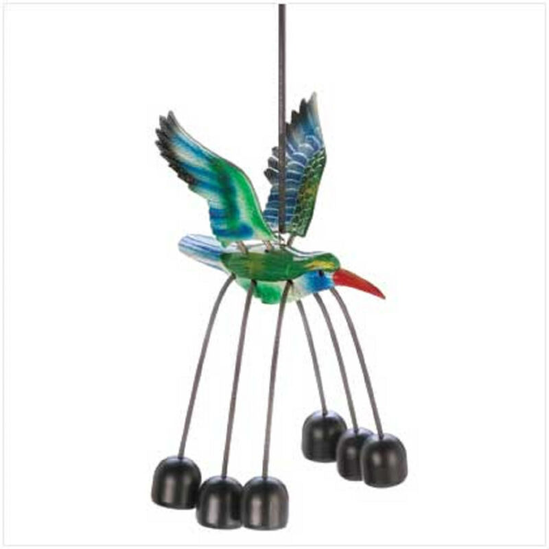 HUMMINGBIRD BELL CHIME