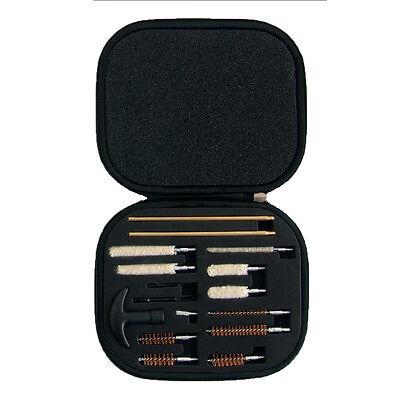 Pistol Gun Cleaning Kit Case 16 Piece Universal 22 357 38 40 44 45 9mm CA-5054