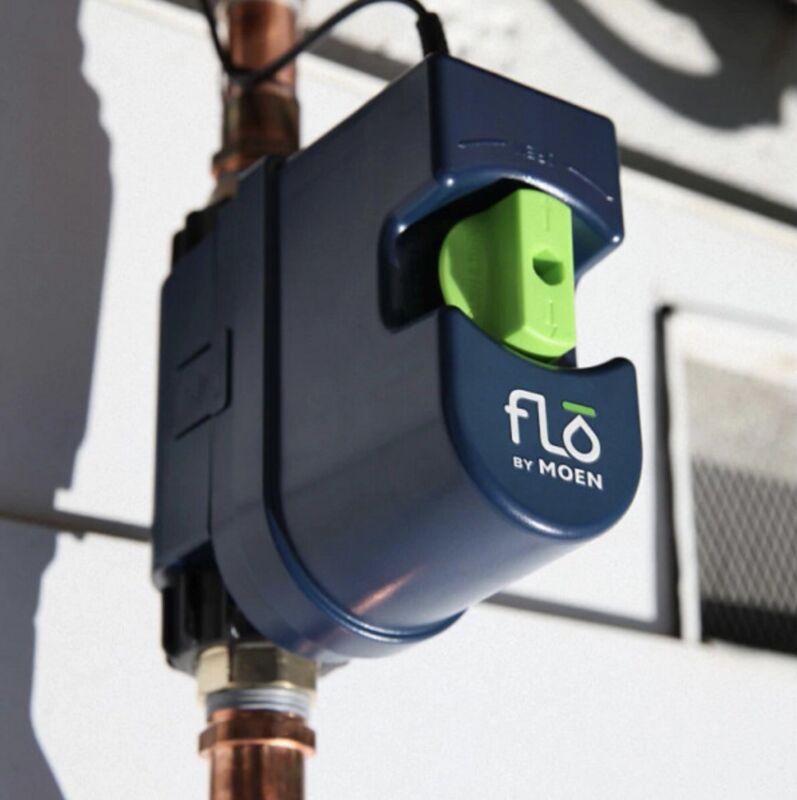 "Moen 900-001 Flo by Moen 3/4"" Smart Water Shutoff, Brand New! Free Shipping"