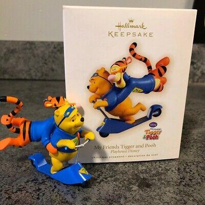 Used, 2009 Hallmark Keepsake Ornament , My Friends Tigger and Pooh, Playhouse Disney for sale  Eddyville