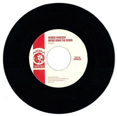 "Herbie Hancock Bring Down The Birds (Original & B-Boy Edit) 45 7"""