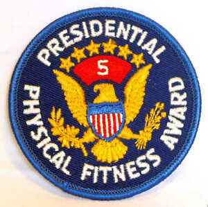 Presidential Fitness Award Patch