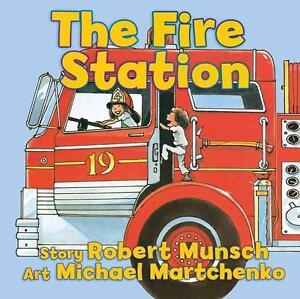 Munsch, Robert-Fire Station (Board)  BOOK NEU