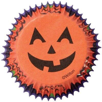 Jack O'Lantern Halloween 75 Ct Baking Cups Cupcake Liners Wilton](Halloween Cupcakes Jack)