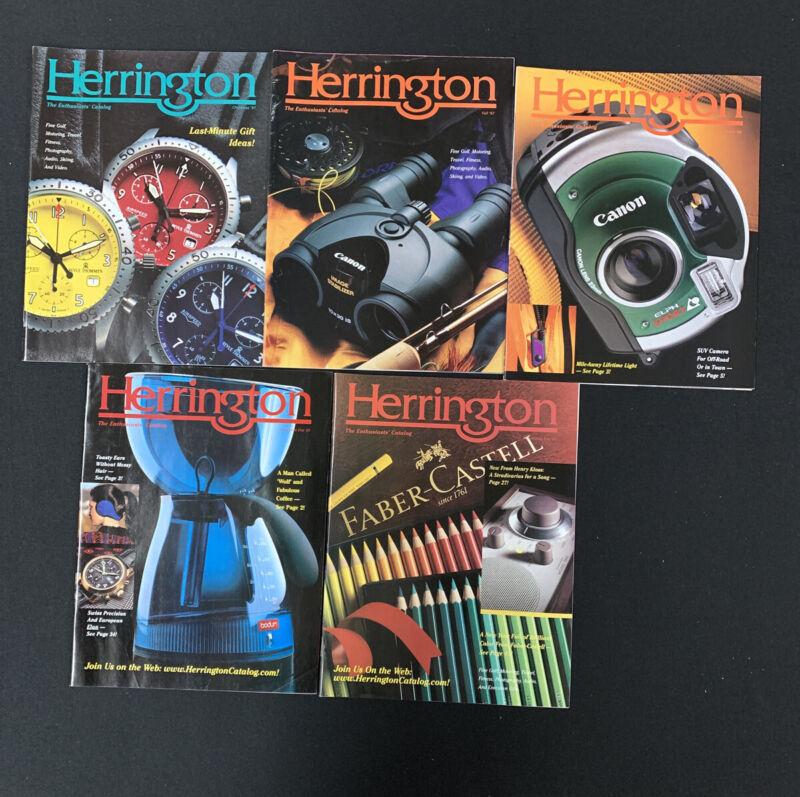 Herrington Catalogs 1990's Lof Of 5 - Vintage Store Catalogs