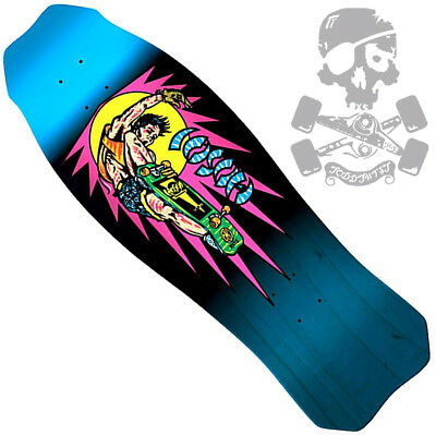 d062880f082 SANTA CRUZ - Christian Hosoi -Skateboard Deck - Metalic Blue to Black Fade  9.98