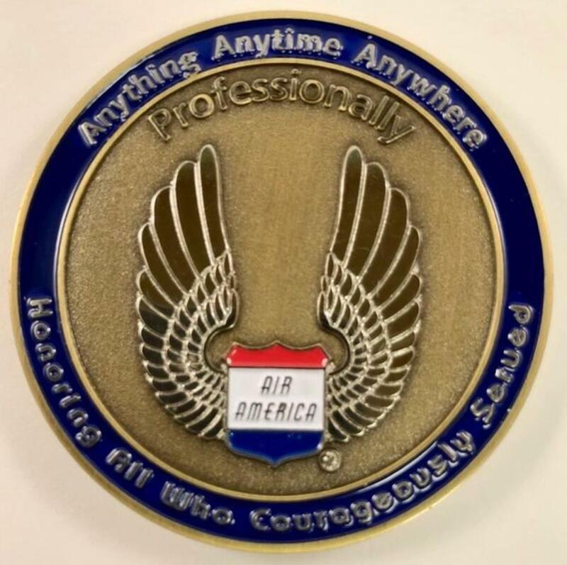 Air America Challenge Coin CC-0101