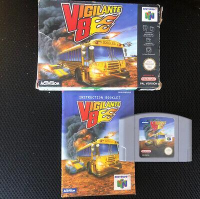 Vigilante 8 Vigilante8 Nintendo 64 N64 Rara Versione Italia/Spagna pal completo