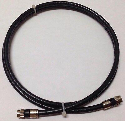 6 Ft,Feet,Foot, Black Rg6 Digital HD Coaxial Satellite TV coaxial video cable Black Rg6 Video Cable