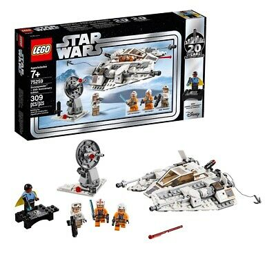 Lego Star Wars Set 75259-1 Snowspeeder – 20th Anniversary - Brand New Sealed Box