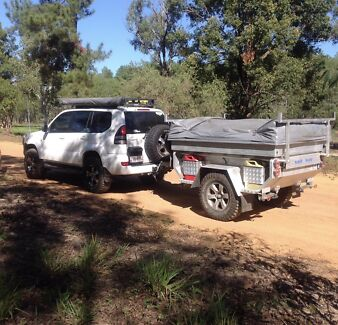 Tough Off Road Camping Trailer