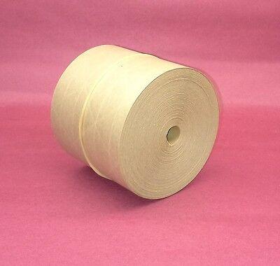 1-roll 3.00 X 150 Gummed Reinforced Paper Tape Kraft Shipping Packaging