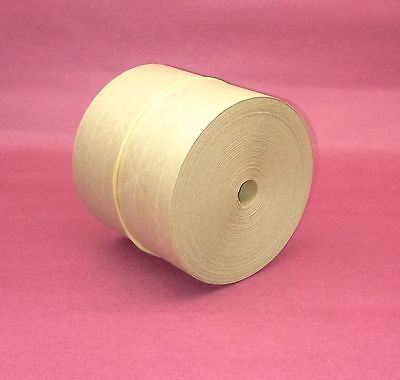 1-roll 3.00 X 100 Gummed Reinforced Paper Tape Kraft Shipping Packaging