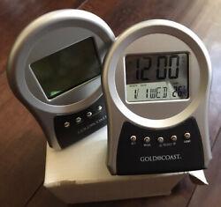 Multi-function Alarm Clock Temperature display battery powered