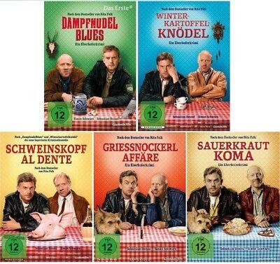 5 DVDs * EBERHOFER - ALLE 5 FILME IM FAN SET INKL. SAUERKRAUTKOMA # NEU OVP % ()