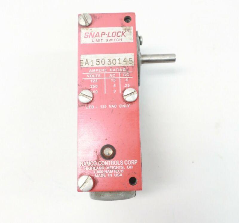 Namco EA15030145 Snap-lock Limit Switch 125/250/460v-ac