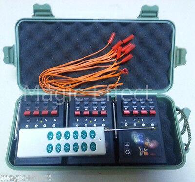 Free Shipping+12Cues 150m remote firewoks firing system+Wireless Remote+program