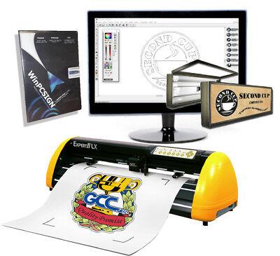 Best Vinyl Cutter Gcc Expert Lx Contour Cut -pro Software