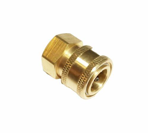 "Pressure Washer 1/2 NPT (Measures .840"") Female Quick Connect Socket Coupler"