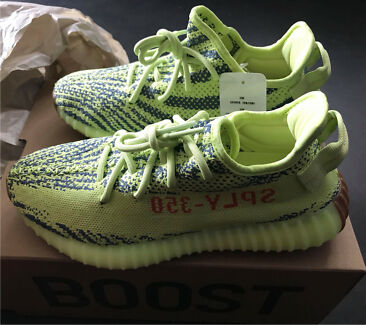 Adidas Yeezy Semi Frozen Yellow