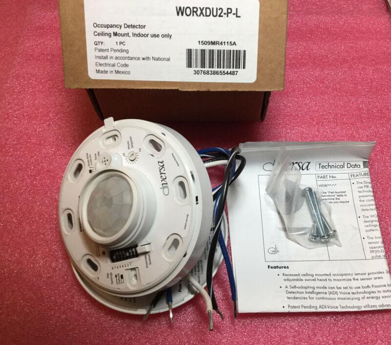 Diversa WORXDU2-P-L Occupancy Detector