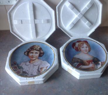 Royal collector plates