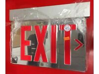 """500/' x 3/"""" ROLL RED DANGER LIVE WIRE TRENCH CAUTION TAPE CT3RE160 NEW 1"""