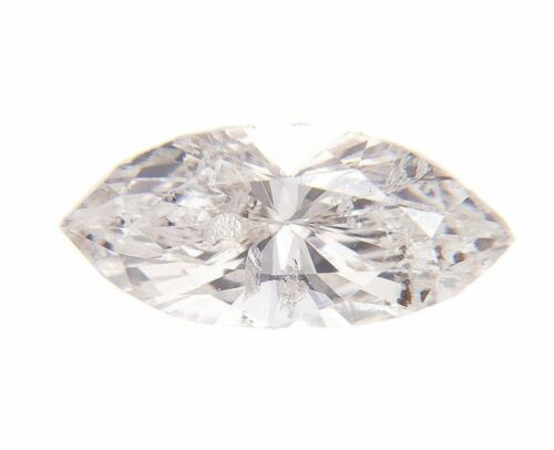 Fancy Light Pink Brown Natural Loose Diamond 0.26 Cts Marquise GIA Cert Color