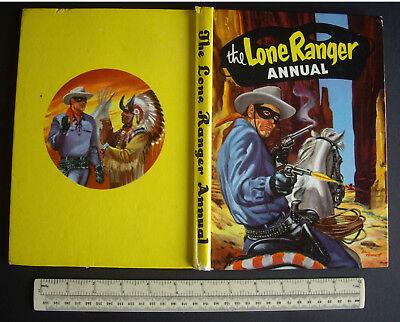 1959 Vintage Lone Ranger Annual Comic Book WDL Manchester UK Walt Howarth Art