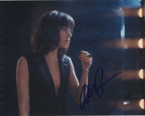 Aubrey Plaza Sexy Autographed Signed 8x10 Photo COA #J2