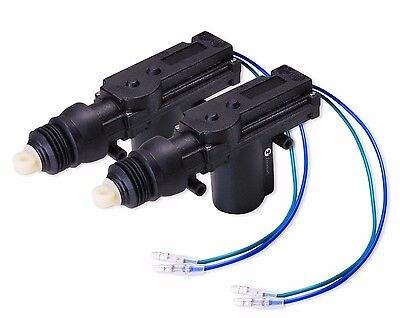Zone Tech 2x Universal High Power Door Lock-Unlock Actuator 12-Volt Motor (Power Lock Motor)