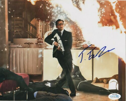 Taron Egerton Kingsman Autographed Signed 8x10 Photo ACOA