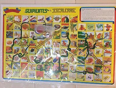 Mexican Serpientes Y Escaleras Authentic original 6 Games 3 Boards Bingo 18