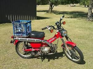 1996 Honda CT110 ex-Postie Unregistered Farm Bike Low Kms Dangarsleigh Armidale City Preview