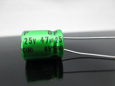 Japan 10pcs Nichicon Bp 47uf 25v 47mfd Muse Es Audio Capacitor Caps