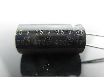 2pc Japan Roa Cerafine 470uf 25v Capacitor For Audio Rohs New Diy Hifi