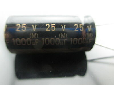 20pcs Japan Roa Cerafine 1000uf 25v Capacitor For Audio Rohs New Diy Hifi