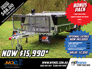 2017 MDC JACKSON REARFOLD HARDFLOOR CAMPER TRAILER Condell Park Bankstown Area Preview