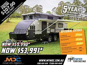2017 MDC XT-17T Hybrid Pop Top Caravan Manunda Cairns City Preview