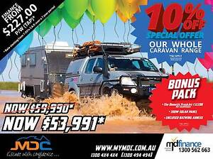 2017 MDC XT-17T Hybrid Pop Top Caravan Condell Park Bankstown Area Preview